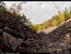 Panorama: glacially formed valley