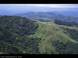 Deforestation and forest patches, Costa Rica