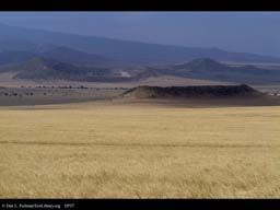 Grassland and extinct volcanoes, Tanzania