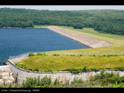 Rondout Reservoir supplying NY City water