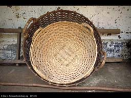 Rattan baskets, India